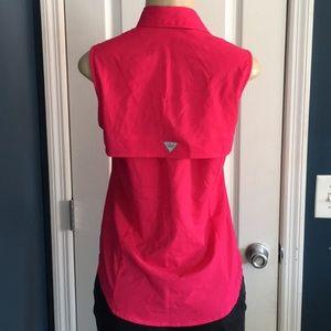 Columbia PFG Tops - Columbia PFG pink sleeveless top size XS